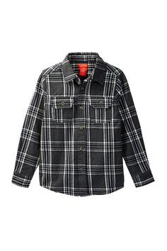 Yarn Flannel Shirt (Little Boys & Big Boys)