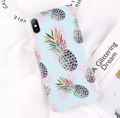 Cartoon Pineapple Flower Leaf Pattern Case For iPhone - Iphone XS - Ideas of Iphone XS for sales. - Cartoon Pineapple Flower Leaf Pattern Case For iPhone Iphone 7, Best Iphone, Iphone 8 Plus, Phone Cases 7, Cool Iphone Cases, Galaxy S3, Ipod Touch, Cartoon Pineapple, Gadgets And Gizmos