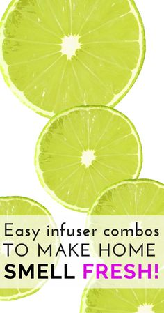 Nothing beats a fresh smelling home! Learn here how to make your own fresh and bright all-natural infusers in minutes to make your place a great smelling one to come home to! The http://Health-Minded.com #home #health