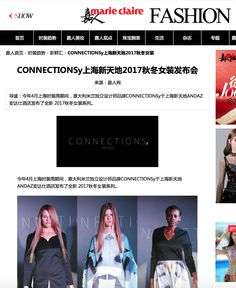 CONNECTIONSy Press on Marie Claire #shangyang #connectionsy #connectionsyextra #connectionsystudio #connectionsypress #milanfashionweek #fashionbrand #Milano