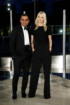 Bibhu Mohapatra and Lily Donaldson