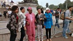 Alaafin of Oyo and His Four Wives Visit Buckingham Palace Buckingham Palace, 21st Century, Culture, Pictures, Gossip, Women, Blog, Photos, Women's