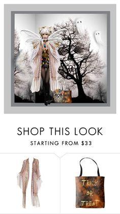 """""""DIY Halloween Costume"""" by melange-art ❤ liked on Polyvore featuring Mary Frances Accessories, halloweencostume, DIYHalloween and melangeart"""