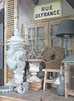 Jeanne d'Arc Living July 2014 Vintage Home Decor