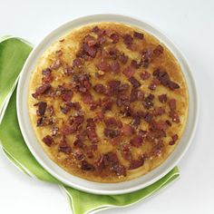 Upside-Down Bacon Pancake - this was fantastic. Whole family loved it!