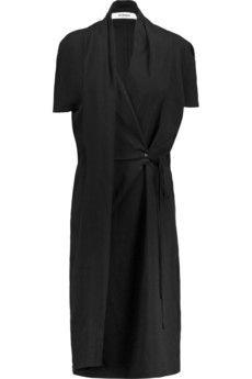 Chalayan Draped wrap-effect crepe dress | THE OUTNET