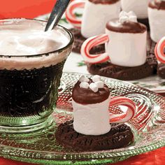 Hot Chocolate Marshmallows   -  orientaltrading.com http://www.freefunchristmas.com/