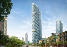 Kohn Pedersen Fox Associates: Projects: Gold Coast Towers