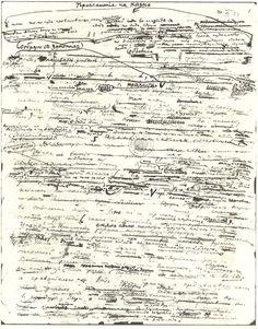 Vladimir Nabokov notes
