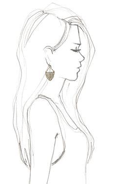 Art Deco Dress Clip Earrings by Lulu Frost for Preorder on Moda Operandi