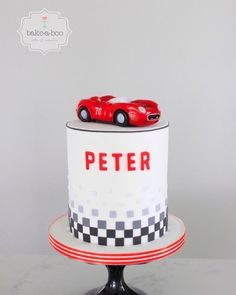 Ford Mustang Birthday Cake Sinfully Sweet Confections Pinterest