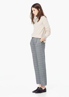 Trousers colorado -  Women | MANGO