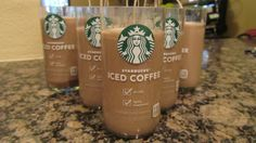 Starbucks Candles  Iced Coffee Bottles now recycled by CandlesByOC