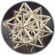 「8角星の作り方」に引き続き、20角星の作り方です。 このブログのアバター画像が... Brick Stitch, Pendant Jewelry, Diy And Crafts, Projects To Try, Sculpture, Embroidery, Pearls, Handmade, Accessories