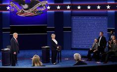 Meet the dad who made Trump and Clinton play nice at the close of Sunday's debate - Washington Post