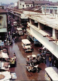 LRT construction 1980s (ctto) Philippines Culture, Manila Philippines, Iloilo City, Jeepney, Visayas, Modern Contemporary Homes, Mindanao, Baguio, Pinoy