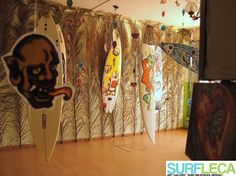 "Surf Art by ""Bart - Bring Art to your Surf"" at Surf Leça Art Gallery"