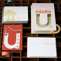 all about U notecard set