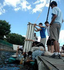 Ocean Engineering Experience summer camp vehicle test, 2011