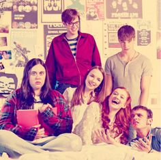 My Mad Fat Diary. This show is aces. Best Tv Shows, Favorite Tv Shows, Sharon Rooney, Nico Mirallegro, Doctor Who Tv, Addicted Series, A Guy Who, Wonderwall, Film Serie