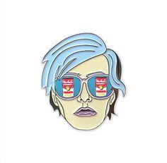 Warhol Dreamlover pin
