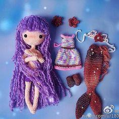 Mermaid Ava done by pattern buyer, sindy_羽. Love it! ❤️