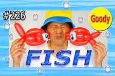 FISH Balloon  おさかな(金魚)を作ろう! 【かねさんのバルーンアート】