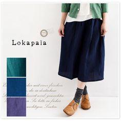 【Lokapala ロカパラ/ローカパーラ】ベルギー リネン ガウチョ パンツ (lp160320)