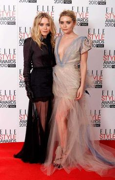 Relive some of Mary-Kate and Ashley Olsen's best red carpet moments: http://on.elleuk.com/1DNzM8j