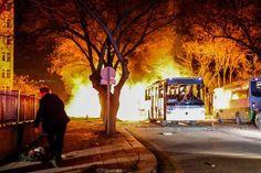 انفجار مهیب در پایتخت ترکیه