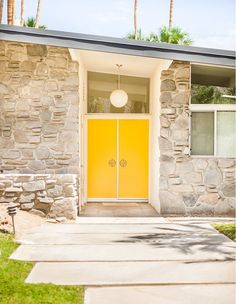 Modern Door Designs With Geometric Glass Panel Inserts In . Door Design Ideas - 9 Examples Of Modern Dutch Doors . A Mid Century Desert Oasis In Palm Springs. Home and Family