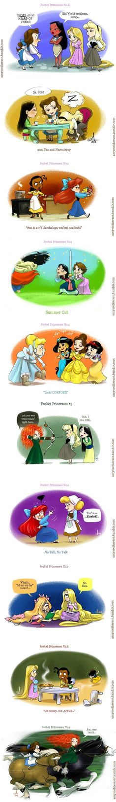 "Disney princesses.... Totally read all of those in Merida's voice. Especially the ""wee lamb"""