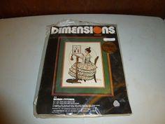 Vintage Dimensions Norman Rockwell Woman Stitching by BathoryZ, $69.00