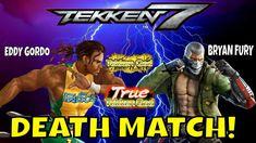 EDDY VS BRYAN DEATH MATCH! (Tekken 7 Season 3)- Eddy Gordo, True Tekken ... Bryan Fury, Tekken 7, Season 3, Death, Youtube, Youtubers, Youtube Movies