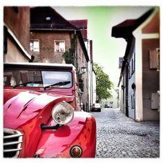 2CV #Citroën #red