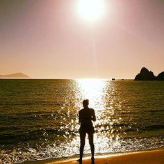 Πυρ γυνή και θάλασσα... Ηλιοβασίλεμα στα Μαυροσπήλια #sunset #summer #greece #greece #kimolos #kimolosisland #cyclades #greece #greece #sea #sand Greece, How Are You Feeling, Island, Mountains, Board, Nature, Travel, Instagram, Block Island