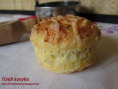 Tündi konyha: Omlós sajtos pogácsa Salty Foods, Salty Snacks, Apple Pie, Muffin, Pudding, Breakfast, Apple Cobbler, Breakfast Cafe, Muffins
