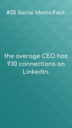 Social media facts Now that& a network!