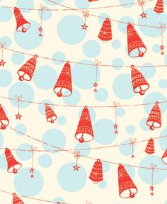 blue and red christmas gift wrap Christmas Gift Wrapping, Vintage Christmas Cards, Retro Christmas, Vintage Holiday, Vintage Cards, Merry Christmas Happy Holidays, Christmas Past, Christmas Gifts, Scrapbook Background