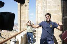 ¡Así se gestó el Campanazzo! La Seu Vella, Candidata a Patrimonio Mundial de la Unesco, ha sido el escenario elegido para protagonizar una de las canastas más locas de la Liga Endesa. ¿Cómo consiguió Campazzo anotar el tiro...