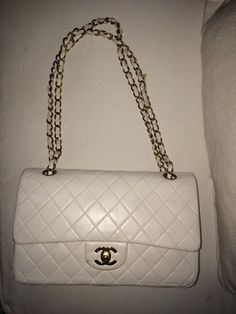 80fa4b9c6c8a Chanel Quilted Lambskin Leather Medium Classic Chain Shoulder Bag ...