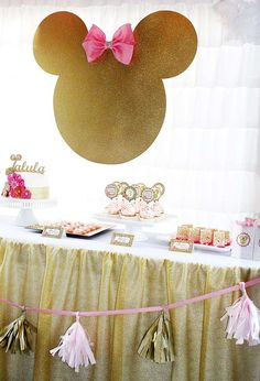 Minnie Mouse Birthday Party Ideas | Photo 1 of 34