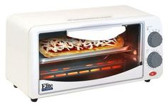 Elite - 2-Slice Toaster Oven - White, ETO-113