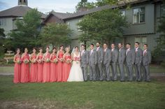 A Southern Elegant Coral and Pink Wedding