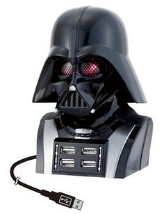 - Any Star Wars fan should own this awesome, animated Darth Vader USB Hub. It's much more than just a hub in the shape of Darth Vader. Usb Hub, Nocturne, Usb Drive, Usb Flash Drive, Star Wars Gadgets, Star Wars Darth Vader, Usb Lamp, Cool Gadgets, Tech Gadgets