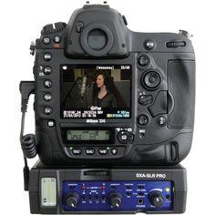 Adaptateur XLR et mixette 2 canaux - Beachtek DXA-SLR PRO