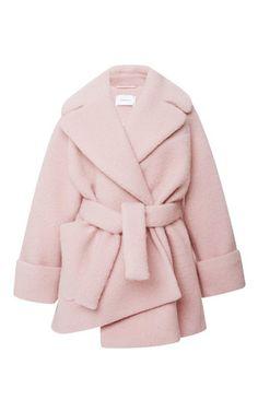 Oversized Wool Coat by Carven - Moda Operandi