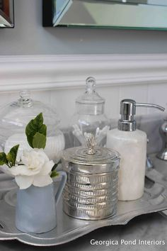 Vanity styling - Georgica Pond | Home Life Style