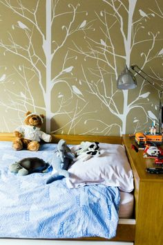 tree wall decals | theglitterguide.com