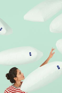 Get your head out of the clouds (and onto our pillow). Casper's unique pillow-in-pillow design is both soft and supportive. Try it for 100 nights, risk-free.